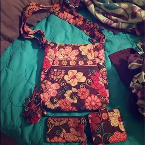 Vera Bradley Purse, Wallet, ID Wallet, & Coin Bag